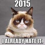Happy New Year! Plz don't be grumpy. :)