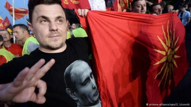 macedonia putin on T-shirt