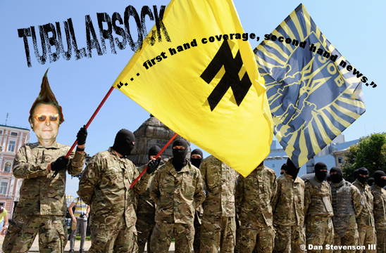 Tube Ukraine nazi Heading