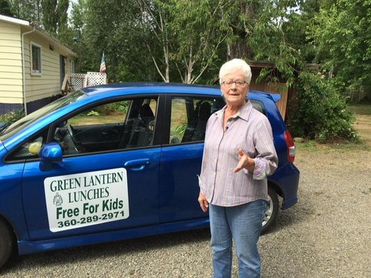 Great Grandmother Drives Across Her County To Help Feed 200 Children - Daily!