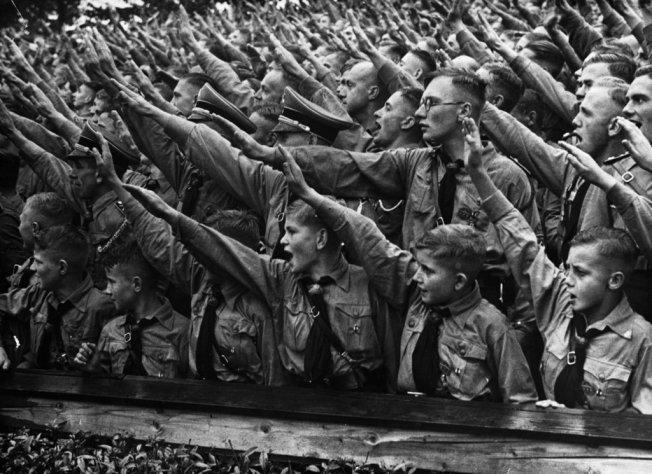 HitlerJugend Salute