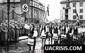 Lvov UPA Hitler salute
