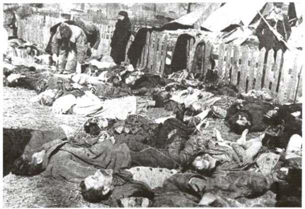 Ukro-nazis massacre of Poles in Volyn
