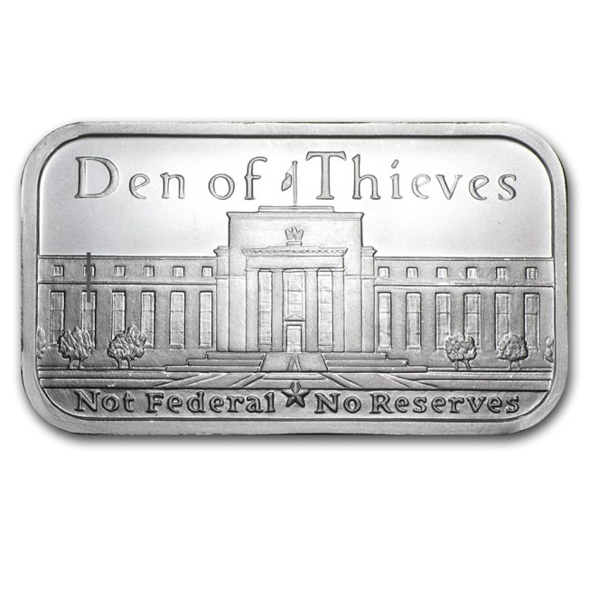 silver bar den of thieves
