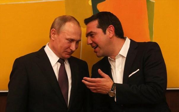 Putin and Tsipras 5 16 Greece visit