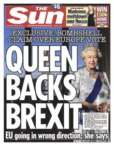 queen backs brexit