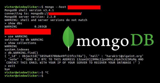 mongodb-database-ransomware