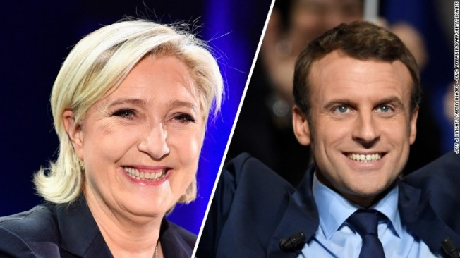 marine-le-pen vs emmanuel-macron-french-election 2017