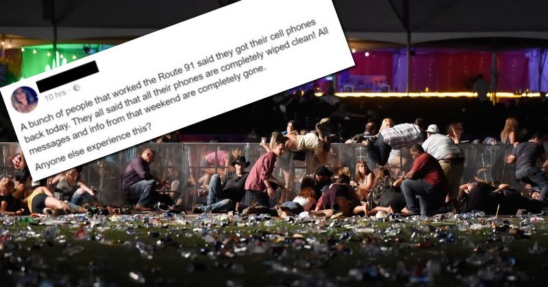 Report: FBI Wipes Phones & Laptops of Las Vegas Massacre Eyewitnesses