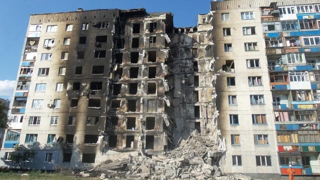 Ukraine - Donbass war Lisichanck
