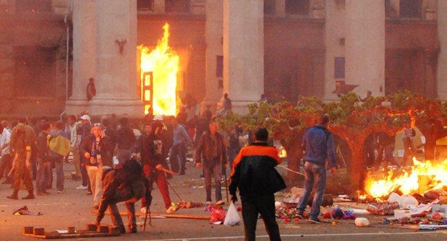 Ukraine Odessa May 2 massacre