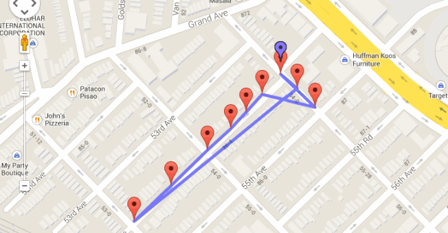google location tracking app