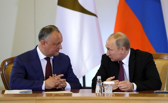 Putin and Igor Dodon