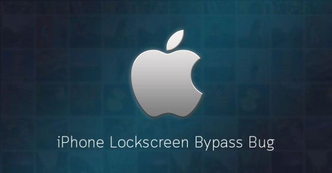 bypass iphone lock passcode screen