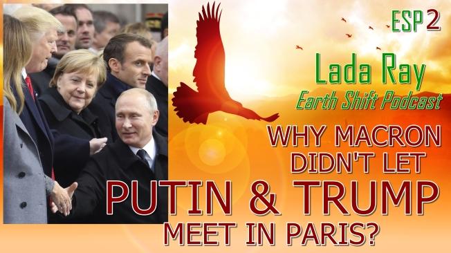ESP2 WHY MACRON DIDN'T LET PUTIN & TRUMP MEET AT WWI END CENTENNIAL IN PARIS