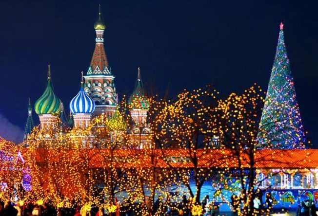 New Year Moscow 1