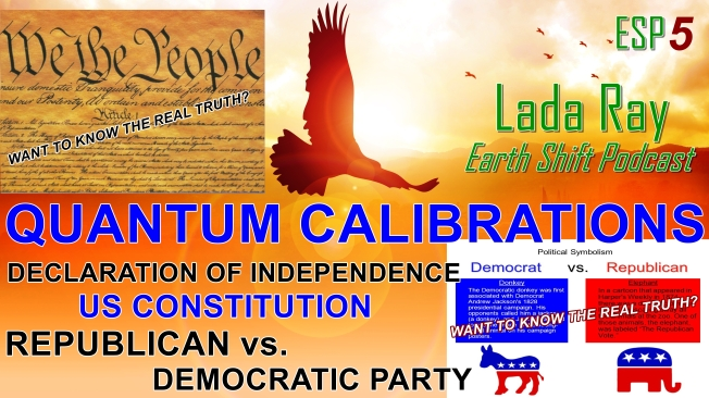esp5 quantum calibrations of dec of independence us constitution democaratic vs republican parties